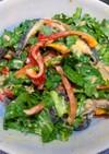 簡単デパ地下風!椎茸と春菊のマヨサラダ