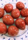 簡単!桃色うずら卵の甘酢ピクルス