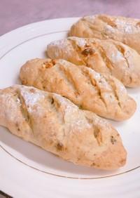 ミックスナッツのグラハムパン