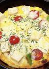 高野豆腐と卵のオムレット