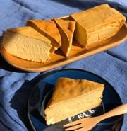 さつまいもの黒糖チーズケーキの写真