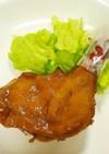 骨付き鶏もも肉/鶏手羽元の甘辛照り焼き