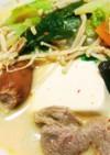 辛味噌豆乳鍋