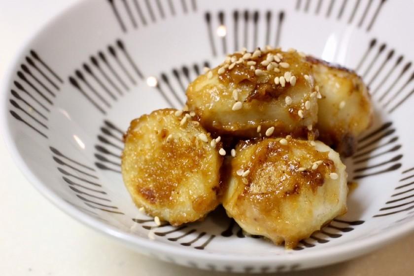 麹生活☆里芋の甘味噌炒め