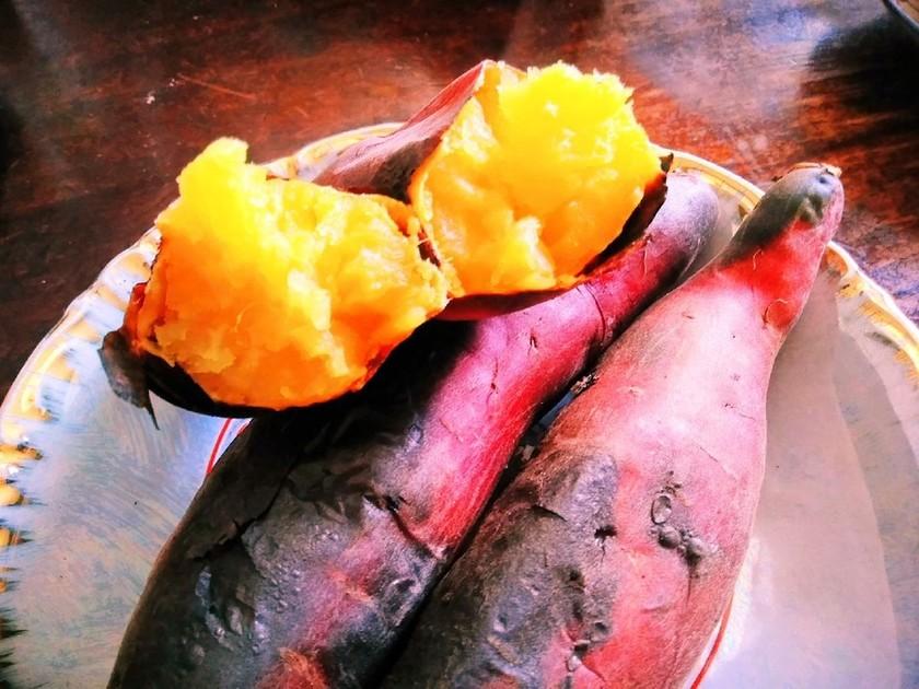 魚焼きグリルで 焼き芋づくり