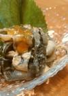鯉の皮の甘酢味噌がけ