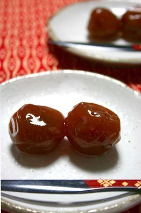 梅の甘露煮(梅酒の梅使用)