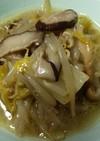 モヤシとキノコの炒め煮