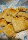 糖質1g!10分でチーズクラッカー
