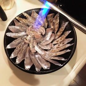 タチウオの炙り
