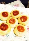 簡単★フライパンdeもっちりパン♡