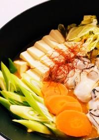 簡単美味しい!牡蠣の味噌ミルク鍋スープ