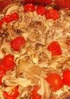 さはの水煮缶で激ウマ!トマトライス♪♪♪