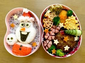 オラフのクリスマス弁当♡アナ雪2