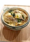 豚肉と豆腐のとろみ煮