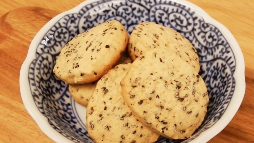 黒ごまクッキー