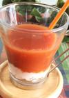 1分で完成☆野菜ジュースのソイスムージー