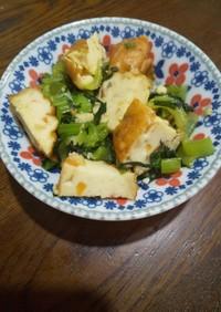 簡単・美味!小松菜と練りものの小鉢