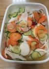 野菜の浅漬け