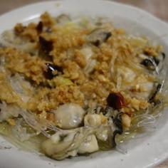 牡蠣のガーリック蒸し