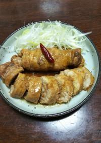鶏チャーシュウ(圧力鍋を使って)