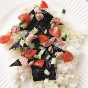 クリパ案!簡単&激安クリスマスチラシ寿司