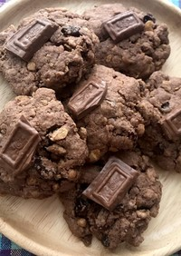 HMとシリアルで簡単☆ココアクッキー