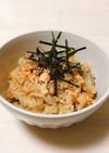 塩鮭と舞茸の炊き込みご飯