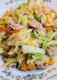 【簡単】白菜の塩炒め