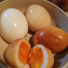 ゆで卵→味付け卵→燻製卵
