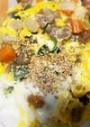 全てレンジ卵とたっぷり野菜甘酢生姜炒め煮
