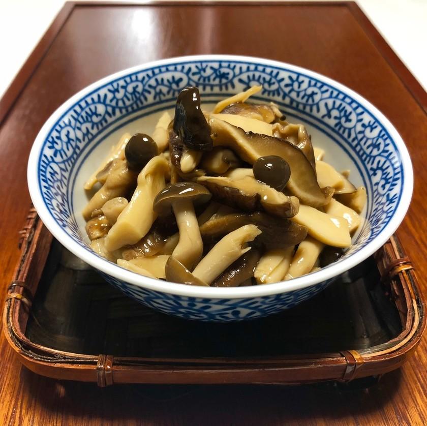 椎茸・しめじの旨煮*作り置き・副菜