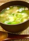 ネギとニンニク生姜の栄養満点☆スープ