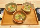 野菜室のお片付け☆油揚げ入りお味噌汁