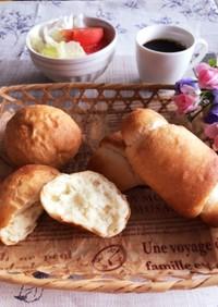 ポリ袋1つで簡単すぎる♡魔法のポリ袋パン