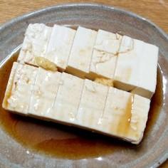 レンチン湯豆腐・温奴