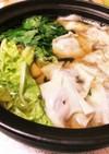 腸まで届くワンタンと白菜の簡単鍋