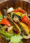カレー風味★鱈と彩野菜のオイスター炒飯