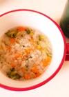 【離乳食】後期☆具だくさん野菜スープ