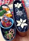 雪の結晶 クリスマス 中学生弁当 詰め方