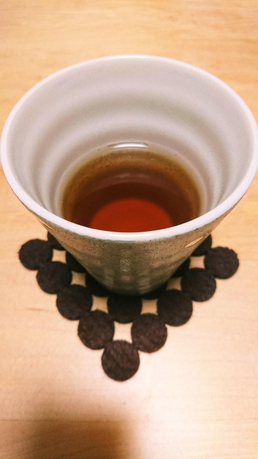 冬のホット麦茶♪