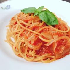 定番!簡単!プロが作るトマトパスタ