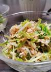 ぱぱっと作れる豆苗ともやしのサラダ