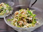 ぱぱっと作れる豆苗ともやしのサラダの写真