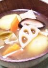 芋だんご汁