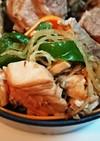 サーモンのお刺身の変わり種料理No.1