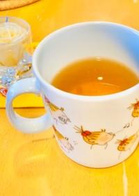 レモン入り☆ホッと生姜麦茶