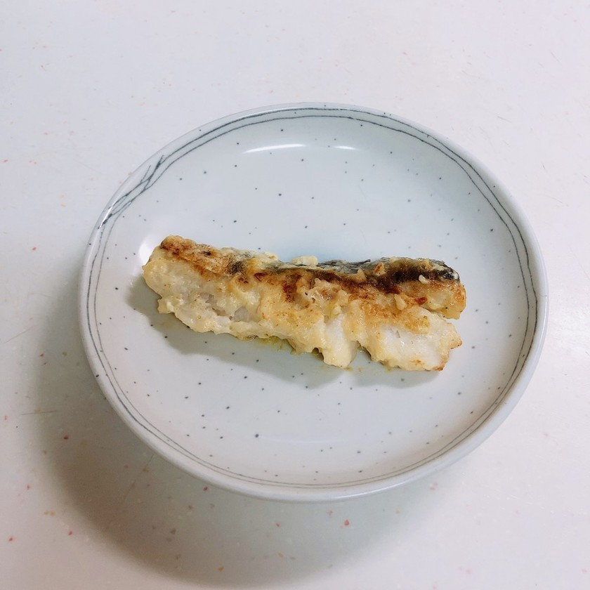 鱈の柚子胡椒ムニエル