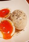 超絶簡単★塩キャベダレのトロットロ煮玉子