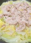 豚バラ白菜塩麹鍋